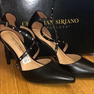 Christian Siriano Black Shoes